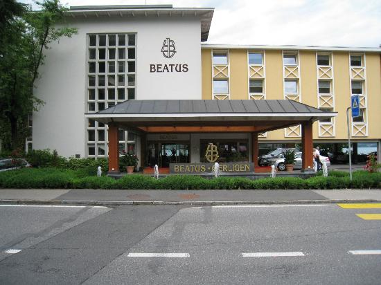 Wellness & Spa Hotel Beatus: front of hotel