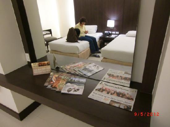 Citystate Tower Hotel: Zimmer 431