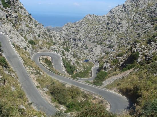 road to sa calobra photo de sa calobra majorque tripadvisor. Black Bedroom Furniture Sets. Home Design Ideas