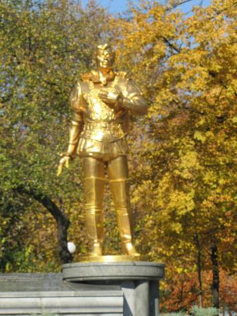 Anatoliy Solovyanenko Statue