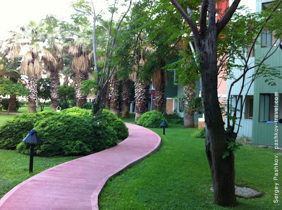 Club Mega Saray: Территория