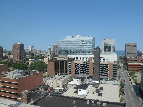 Milwaukee Athletic Club: Rooftop view
