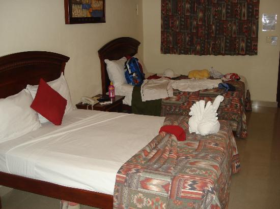 El Campanario: camas