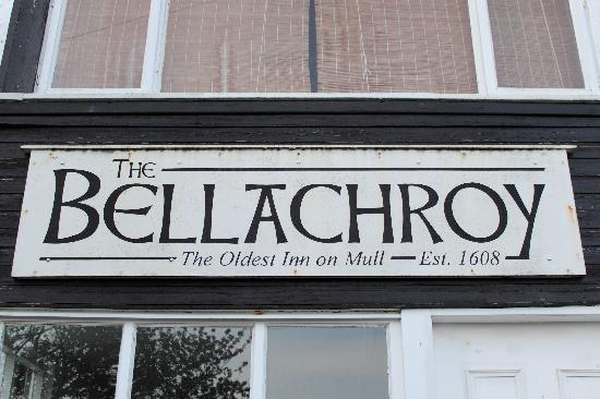 The Bellachroy Restaurant: Mull's oldest Inn - wonder what they ate then?
