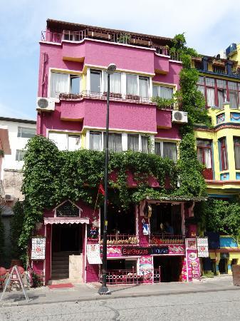 Hotel Han: Hotel und Restaurant, Eingang