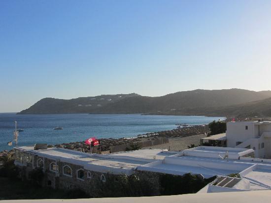 Arte & Mare Elia Mykonos Suites: Θέα απο το δωμάτιο