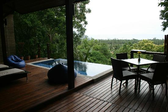 The Place Luxury Boutique Villas: piscina vista