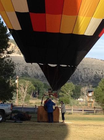 San Juan Balloon Adventures: Just starting
