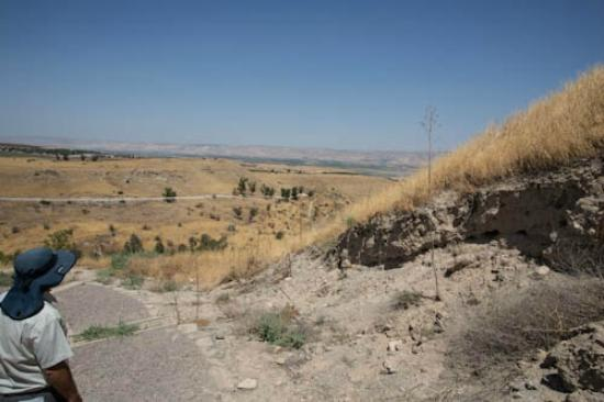 Beit She'an, Israel: View from near the highest point