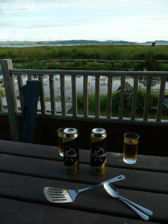 Tralee Bay Holiday Park: View from chalet