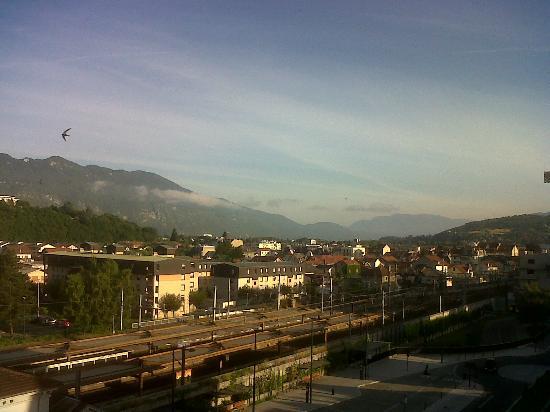 P'tit Dej-Hotel: vue depuis la chambre
