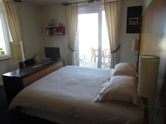 l'Hotel de Carantec: zimmer