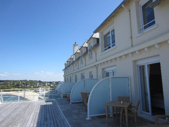 l'Hotel de Carantec: balkon