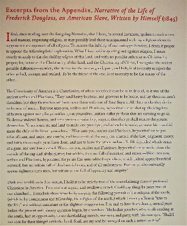 Harry Ransom Center: Quote from Frederick Dougls Biography