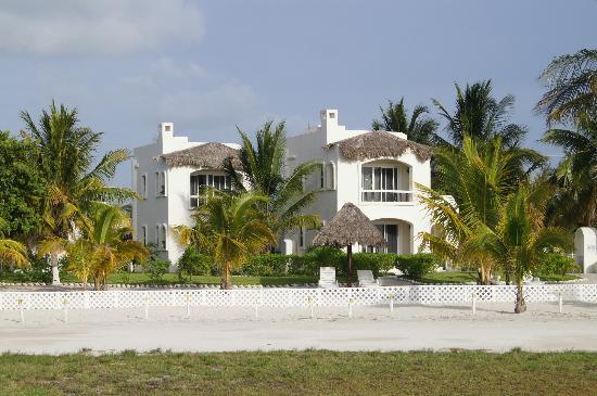 Hotel Puerto Holbox: Vista desde la playa