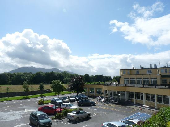 Gleneagle Hotel: View from balcony