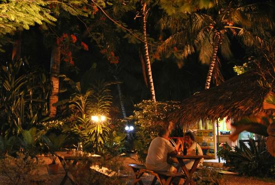 Cabarete Surfcamp: By the entrance of Cabarete Surf Camp