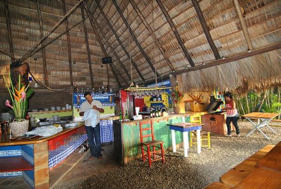 Cabarete Surfcamp: Cabarete Surf Camp restaurant