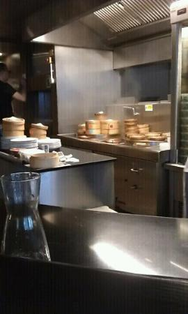 Ping Pong Marylebone: kitchen