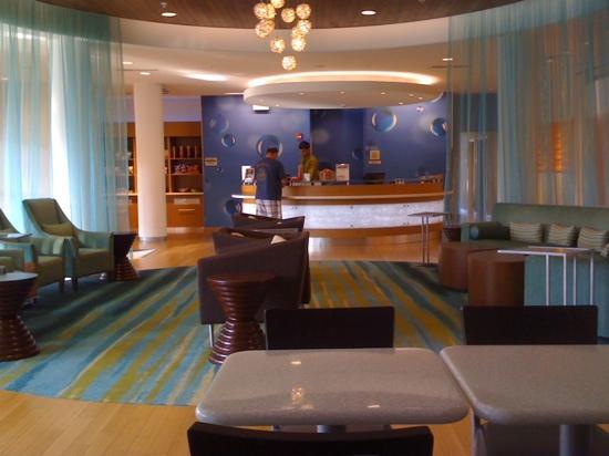SpringHill Suites Harrisburg Hershey: lobby