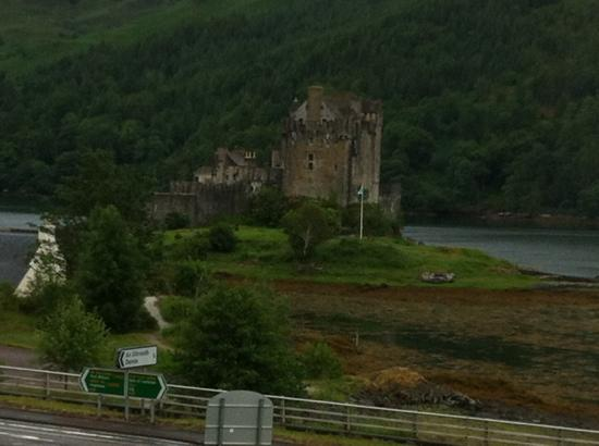Donan House: view from bedroom 3 window