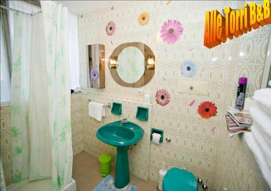 Alle Torri B&B : bagno verde