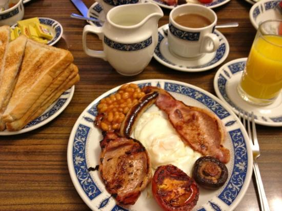 Regency House Hotel : English breakfast July 2012