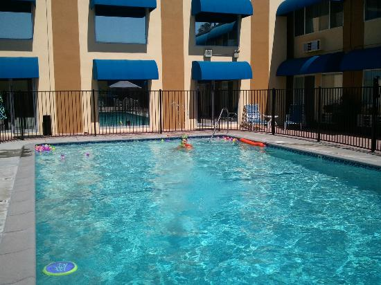 BEST WESTERN Canoga Park Motor Inn: Pool fun!!!