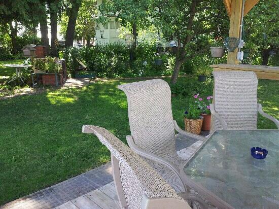 Blue Spruce Lodge: Garden gazebo