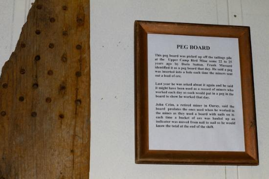 Ouray County Museum: more mining
