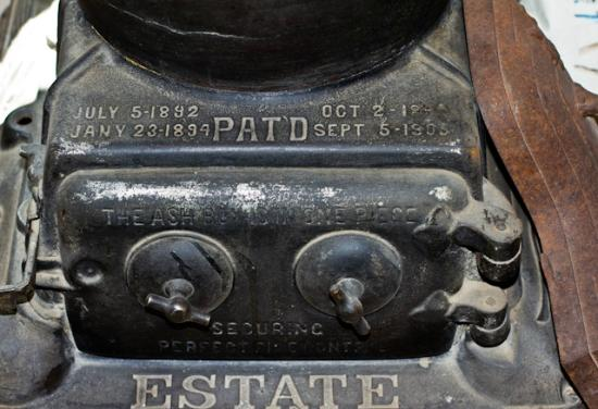 Ouray County Museum: 1892 stove