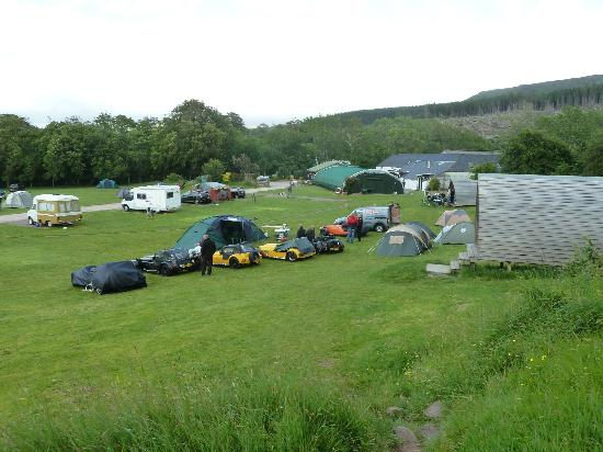 Applecross Campsite: Campsite and Camping Huts