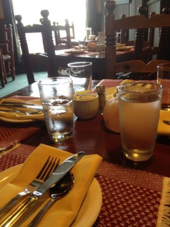 Louisbourg, Kanada: the dinning room