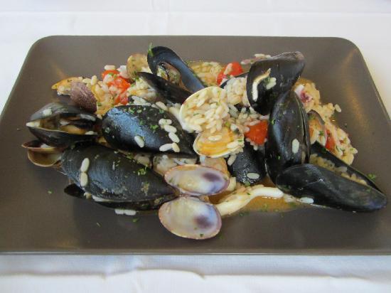 San Rocco Restaurant Bar: Seafood risotto