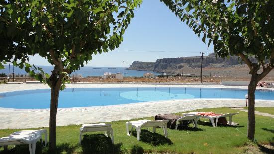 Lindos Sun Hotel: Swimming pool