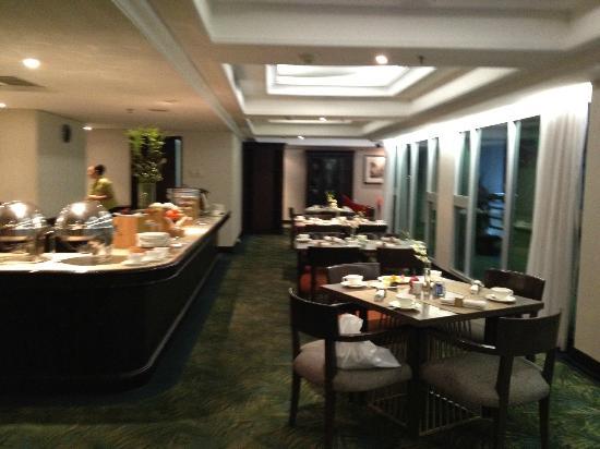 โรงแรมซานติก้า พรีเมียร์ จาการ์ตา: Club Lounge