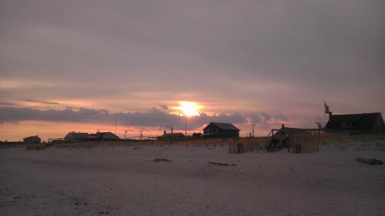 Dune Point: Sunset over Cherry Grove