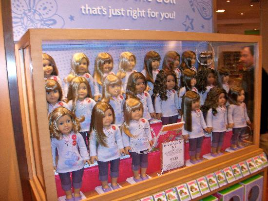 American Girl Doll Cafe In New York City