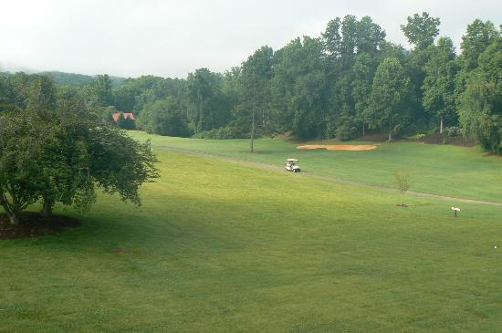 Fairways of the Mountains: View from Deck