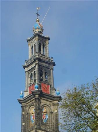 Bees B&B: Westerkerk tower