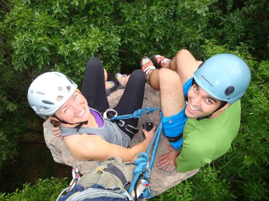 Adventures in Climbing: 2 very happy clients
