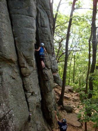 Adventures in Climbing: Millie Climbing