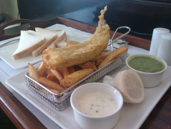 Jurys Inn Inverness: Fish and chips - So, so