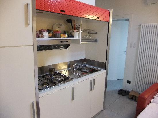 Residenza XX Settembre : Мини-кухня