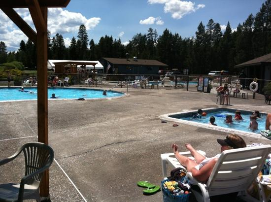 Bend-Sunriver RV Campground: 3 pools!