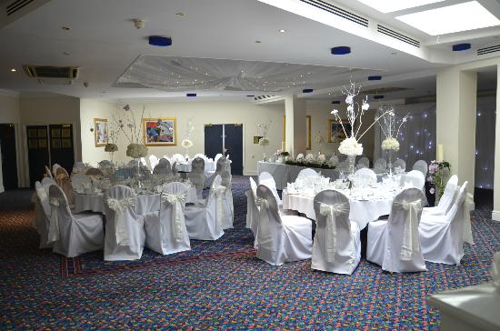 Mercure Bolton Georgian House Hotel: wedding reception room