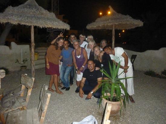 Les Palmiers Chez Neji et Catherine : Belle soirée à Djerba