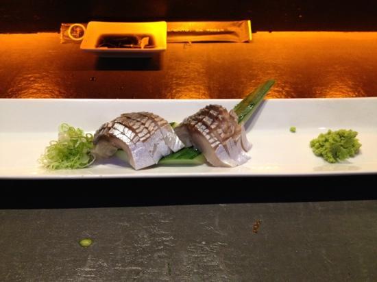 Zen Bistro - Millbrae : Saba - sushi style