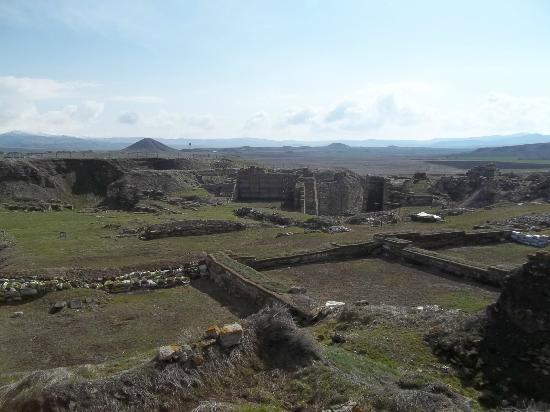 Ankara Province, Turkey: The ancient city excavations