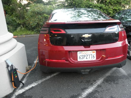 Four Points by Sheraton Bellingham Hotel & Conference Center: Plugged in!